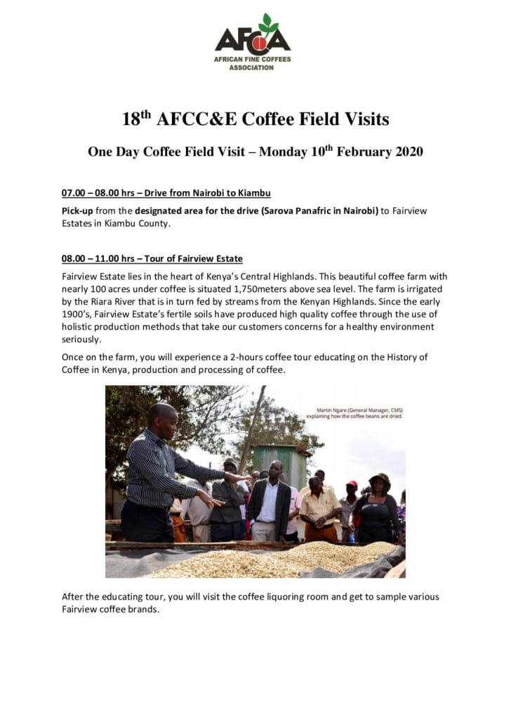 thumbnail of AFCCE18 – 1-Day Coffee Field Visit Itinerary