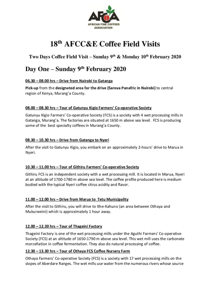 thumbnail of AFCCE18 – 2-Days Coffee Field Trip Itinerary
