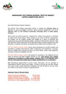 thumbnail of 1. Ethiopia Taste of Harvest Announcement