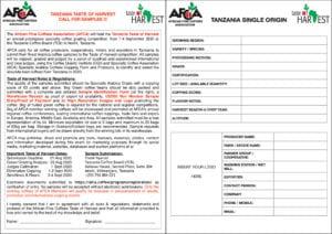thumbnail of 2. Tanzania Call for Samples & Sample ID Form
