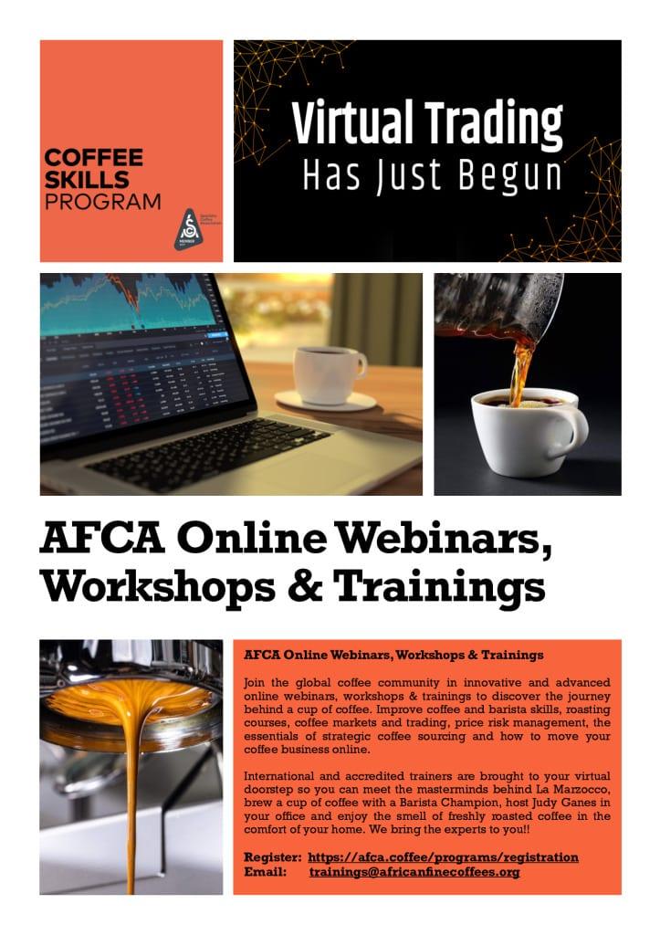thumbnail of 1. AFCA Online Webinars, Workshops & Trainings